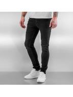 Jack & Jones Straight Fit Jeans jjiLiam jjOriginal svart