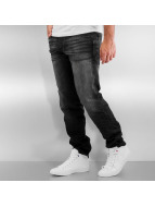Jack & Jones Straight fit jeans jjiMike jjIron zwart
