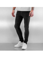Jack & Jones Straight fit jeans jjiLiam jjOriginal zwart