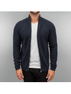 Jack & Jones Strickjacke jcoRib blau