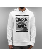 Jack & Jones Sweat à capuche jcoExpanse blanc