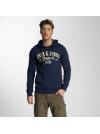 Jack & Jones Sweat à capuche jorDiego bleu