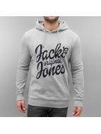 Jack & Jones Sweat à capuche jorFilling gris