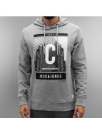 Jack & Jones Sweat à capuche jcoExpanse gris