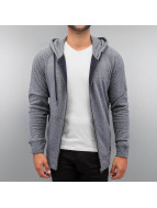 Jack & Jones Sweat à capuche zippé jorSappa bleu