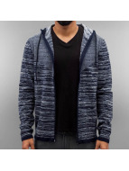 Jack & Jones Sweat à capuche zippé jcoForrest bleu