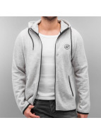 Jack & Jones Sweat à capuche zippé jjcoNick gris