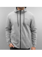 Jack & Jones Sweat à capuche zippé jcoShelton gris