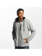 Jack & Jones Sweat à capuche zippé jcoJesper gris