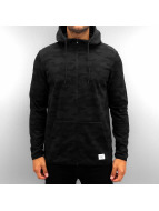 Jack & Jones Sweat à capuche zippé jcoCamo noir