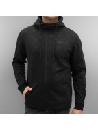 Jack & Jones Sweat à capuche zippé jcoShelton noir