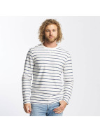 Jack & Jones Sweat & Pull jjorStripped blanc