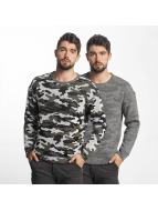 Jack & Jones Sweat & Pull jorGiden Reversible vert