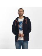 Jack & Jones Sweat capuche zippé jcoPenn bleu