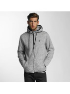 Jack & Jones Sweat capuche zippé jcoCarbon gris