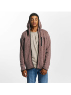 Jack & Jones Sweat capuche zippé jcoJesper rouge