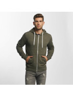Jack & Jones Sweat capuche zippé jorStorm vert