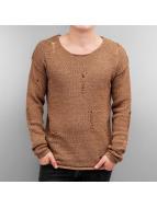 Jack & Jones Swetry 12115685 bezowy