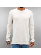 Jack & Jones Swetry jorSlub bialy