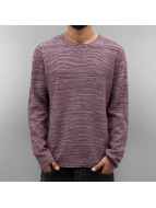 Jack & Jones Swetry jjorAxel Knit czerwony