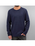 Jack & Jones Swetry jorRaw niebieski