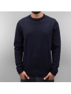 Jack & Jones Swetry jjcoTwisting niebieski
