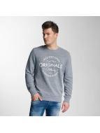 Jack & Jones Swetry jorBase niebieski