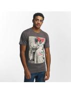 Jack & Jones T-paidat jorKnock harmaa