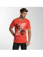 Jack & Jones T-paidat jcoHatti punainen