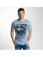 Jack & Jones T-Shirt jorFrancisco blau