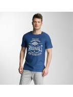Jack & Jones T-Shirt jorStatement blau