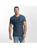 Jack & Jones T-Shirt coHalibut blau