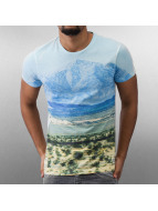 Jack & Jones t-shirt Originals Desert blauw