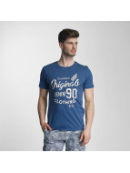 Jack & Jones T-Shirt jorTraffic bleu