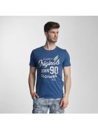 Jack & Jones T-Shirt jorTraffic blue