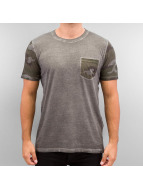 Jack & Jones T-Shirt jorMax grau