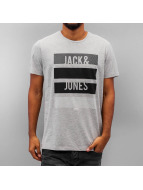 Jack & Jones T-Shirt jcoVince grau