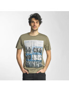 Jack & Jones t-shirt jcoMoin groen