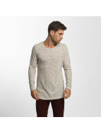 Jack & Jones T-Shirt manches longues JORLoose beige