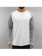 Jack & Jones T-Shirt manches longues jorNew Stan blanc