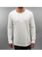 Jack & Jones T-Shirt manches longues jjorGeorge blanc