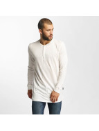 Jack & Jones T-Shirt manches longues jorStitch blanc