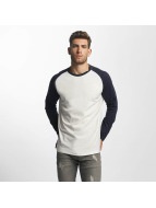 Jack & Jones T-Shirt manches longues jorNewstan blanc