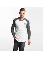 Jack & Jones T-Shirt manches longues jcoNoise Raglan blanc