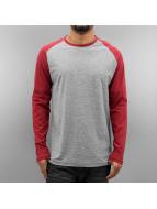 Jack & Jones T-Shirt manches longues jorNew Stan gris