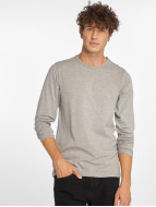 Jack & Jones T-Shirt manches longues Basic gris