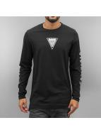 Jack & Jones T-Shirt manches longues jjcoTheis noir