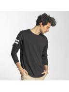 Jack & Jones T-Shirt manches longues jcoRonur noir