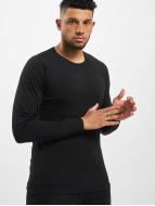 Jack & Jones T-Shirt manches longues Core Basic noir