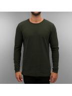 Jack & Jones T-Shirt manches longues jcoBarnie olive